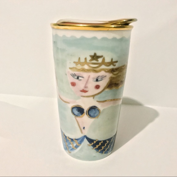 Starbucks Mermaid 2014 Collectible Mug Cup